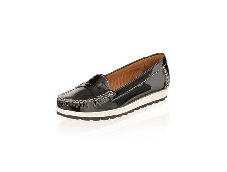 Geox Mokassin Schuhe in schwarz