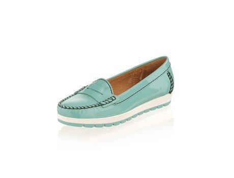 Geox Mokassin Schuhe in aqua
