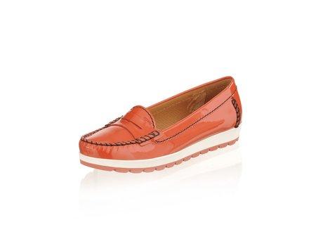 Geox Mokassin Schuhe in orange