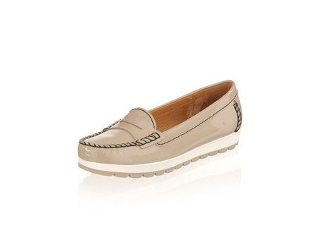 Geox Mokassin-Schuhe in stone