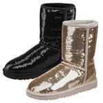 Paillettenbesetzte UGG-Boots