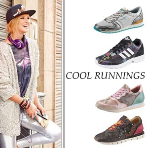 "Bunte Sneaker unter dem Motto ""Cool Runnings"""