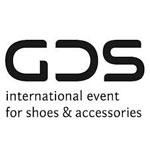 Das Logo der GDS besteht aus schwarzen Lettern.