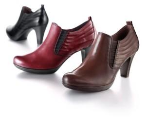 Verschiedene Schuhe sind wichtig, um oft wechseln zu können.