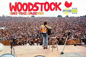 Woodstock war DAS Hippie-Festival der 60er und 70er Jahre.