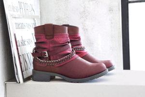 Rot sind diesen Herbst nicht nur die Blätter, sondern auch unsere Schuhe.