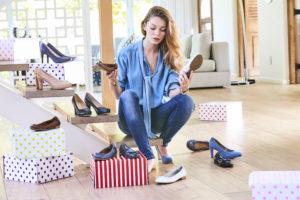 Bei zu vielen Schuhen muss man bei der Auswahl oft lange überlegen.