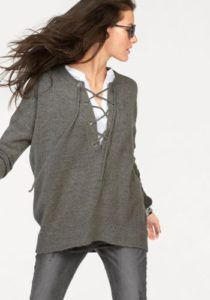 Oversized-Pullover von Aniston