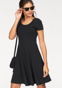 schwarzes Kleid von AJC