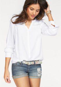 weiße Bluse von AJC