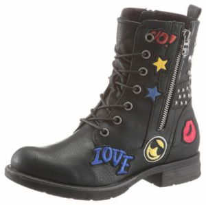 Tom Tailor Boots mit Patches