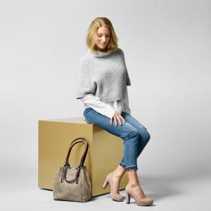 Schuhe und Tasche von Tamaris