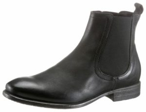 Schlichte Chelsea Boots in Schwarz