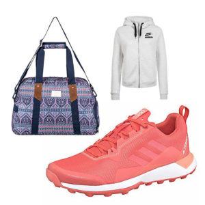 Shoppe farbenfrohe Sportswear auf imwalking.de!