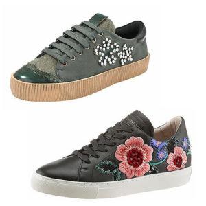 Entdeckte die bestickten Trend-Schuhe auf imwalking.de!