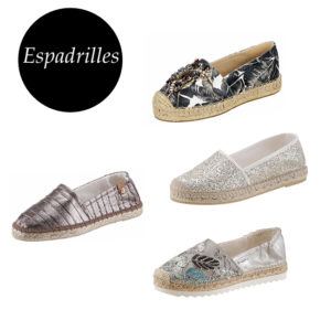 Trendige Espadrilles in allen Varianten findest du auf imwalking.de!