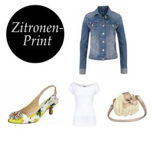 Der Zitronenprint erobert gerade die Fashionwelt. Trendige Styles auf imwalking.de :)