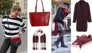 Taschen in der Trendfarbe Rot sind absolute Hingucker!