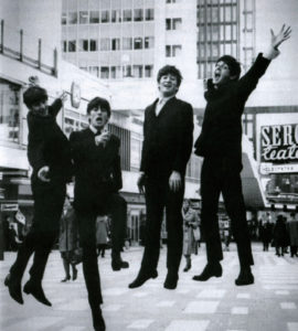 Die Beatles in Chelsea Boots