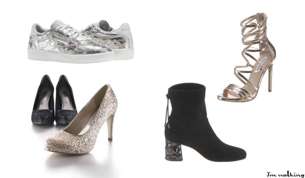 Silvesterparty - Outfit & Schuhinspiration