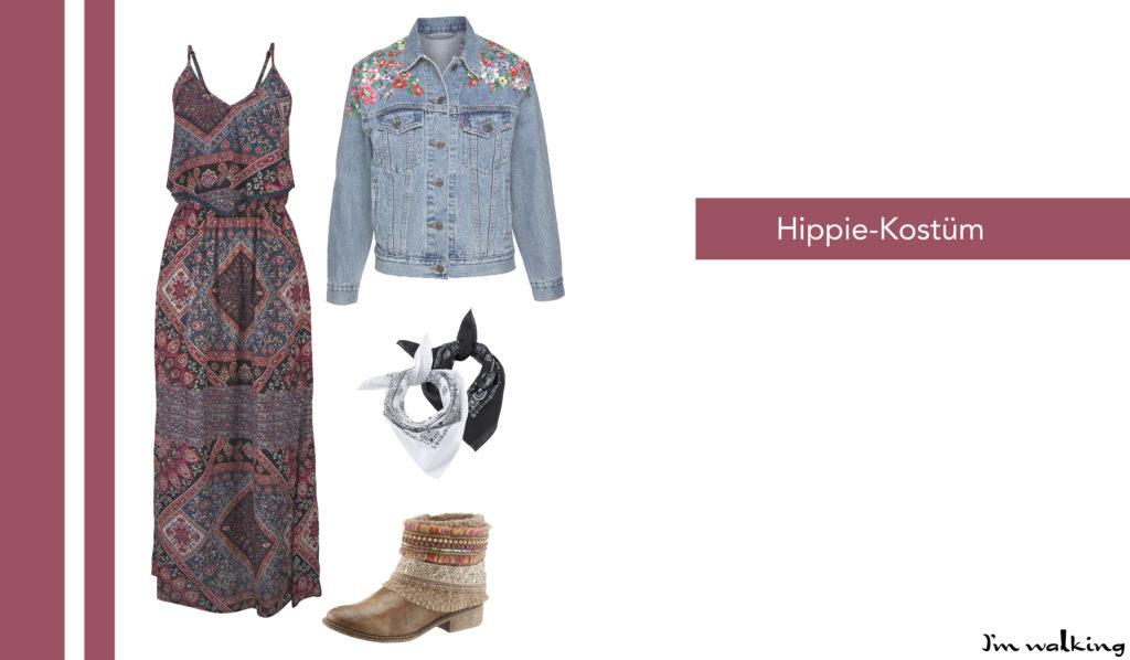DIY Hippie-Kostüm auf imwalking.de!