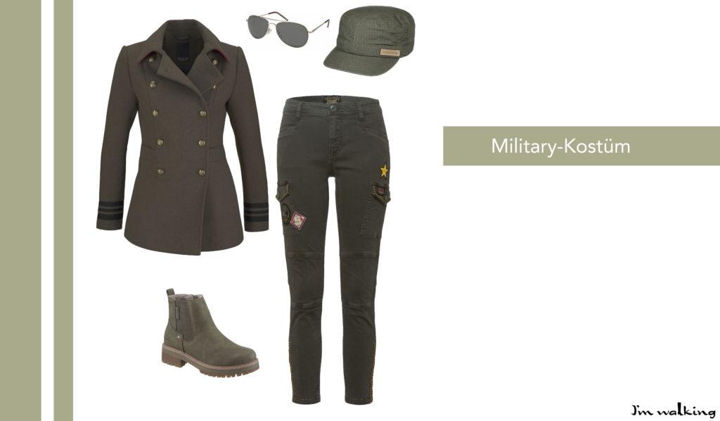 DIY Military-Kostüm auf imwalking.de!