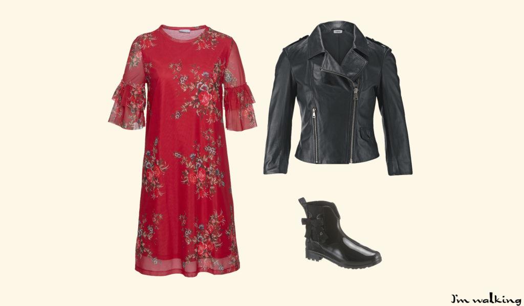 Style deinen Festival Look mit Gummistiefeln, entdecke das Outfit auf imwalking.de!