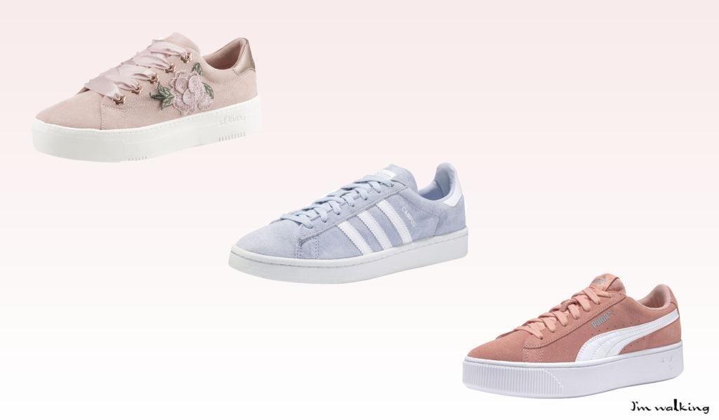 Entdecke Schuhe in stylischem pastell auf imwalking.de!