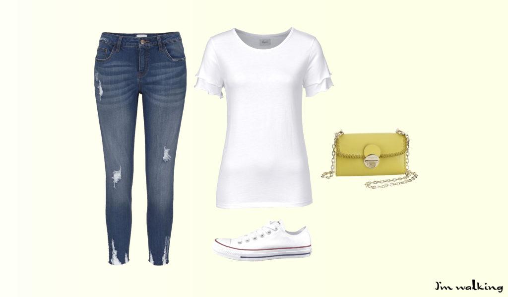 Trendiges Outfit zum Trend Sommer-Gelb!