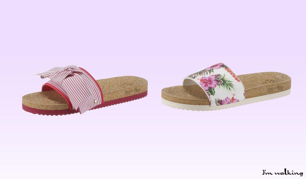 Sommer-Pantoletten von flip*flop bei imwalking.de