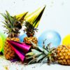three-pineapples-with-gold-party-hats-1071883